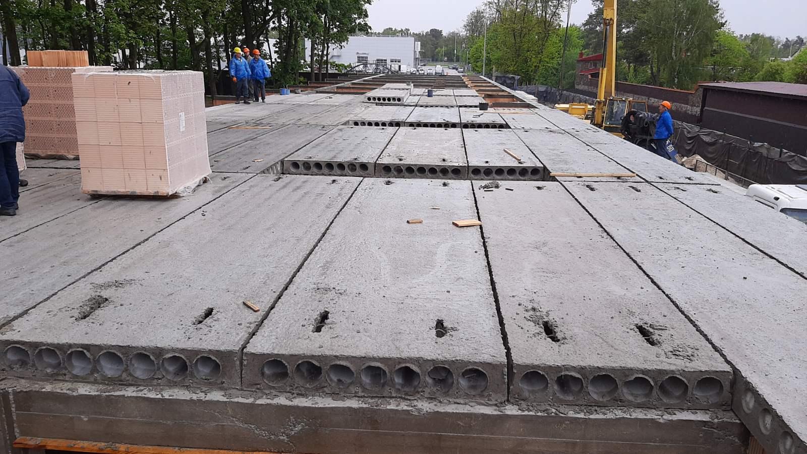 Плиты перекрытия многопустотные в конструкции
